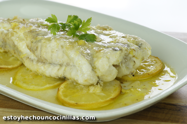 Lemon monkfish recipe