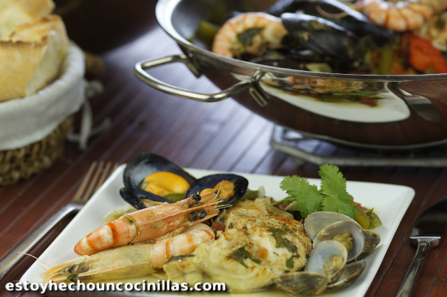Seafood and fish cataplana